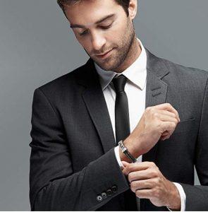 armband elegant herren geschenk freund mann leder